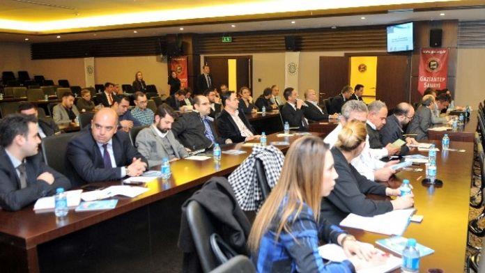 GSO'da 'Sanayide Enerji Verimliliğinin Arttırılması' Toplantısı Yapıldı