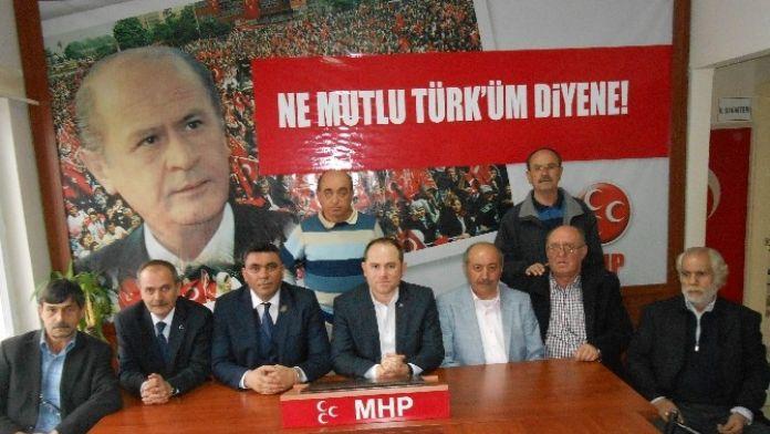 Harp Malulü Gaziler, Şehit, Dul Ve Yetimleri Derneği Eskişehir Şubesi'nden MHP'ye Ziyaret