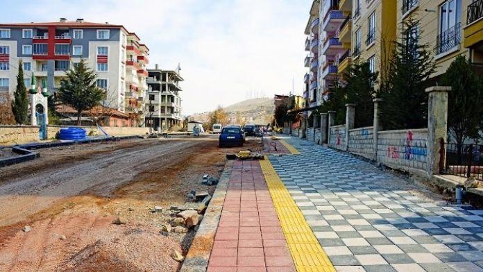 Eşref Bitlis Caddesi Yenileniyor