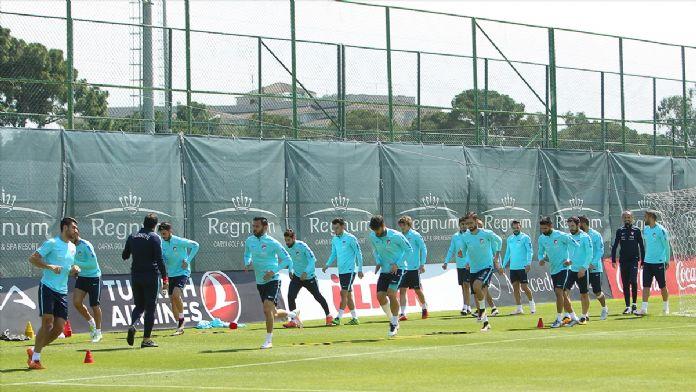 A Milli Futbol Takımı'nın Antalya kampı sona erdi