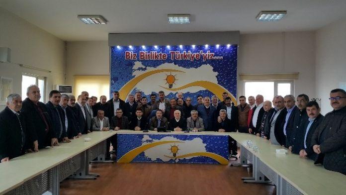 Bekiroğlu, İl Genel Meclisi Üyeleriyle Bir Araya Geldi
