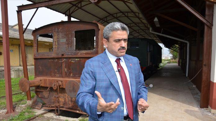 'Gıdı Gıdı Treni'nin restorasyonu başladı