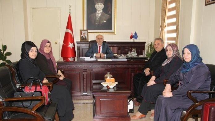 İHH Bayburt Şube Başkanı Polat, Vali Odabaş'ı Ziyaret Etti
