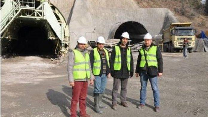 Türkiye'nin En Uzun Tüneline BEÜ'den Danışmanlık