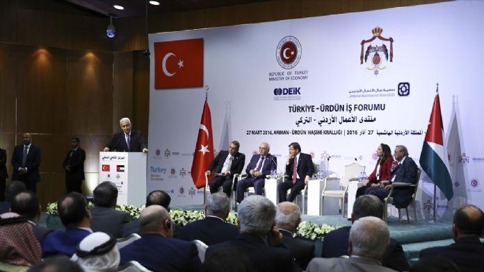 Türkiye-Ürdün İş Forumu
