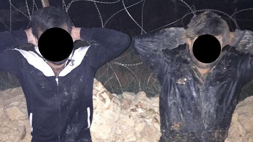 DAEŞ'ci İki Kişi Sınırda Kıskıvrak Yakalandı