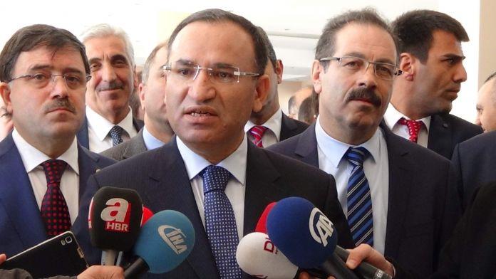 Bozdağ'dan CHP ve HDP'li vekillere tepki