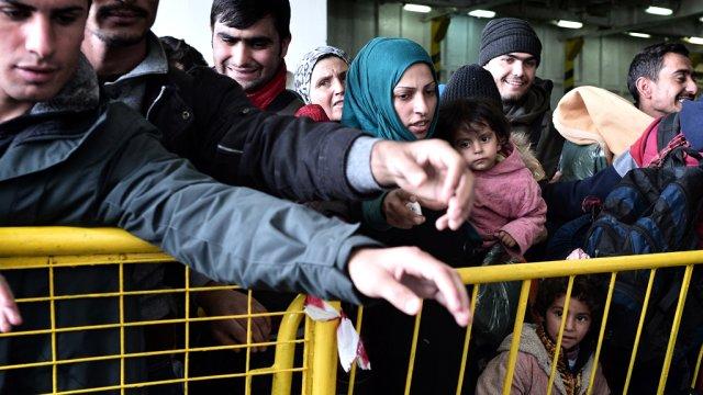 Yunanistan'daki sığınmacı belirsizliği