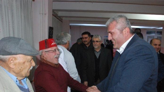 AK Parti Uşak İl Teşkilat, Huzurevi Sakinleriyle Buluştu