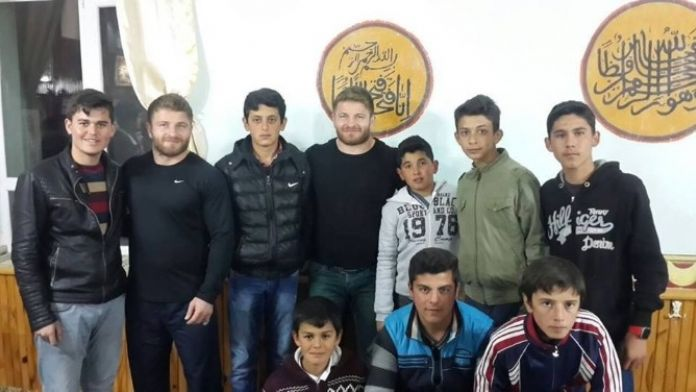 Başpehlivan Balaban, Gençlerle Buluştu