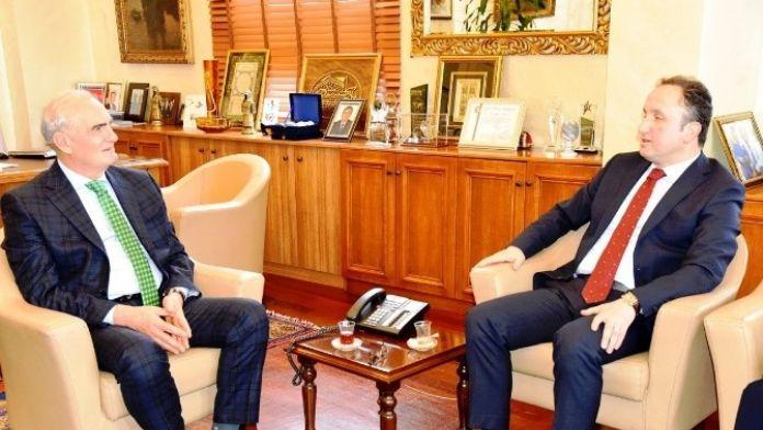 İl Milli Eğitim Müdürü Esen, Başkan Yılmaz'ı Ziyaret Etti