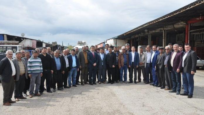 Kozan'da Hal Esnafının Korsan Tepkisi