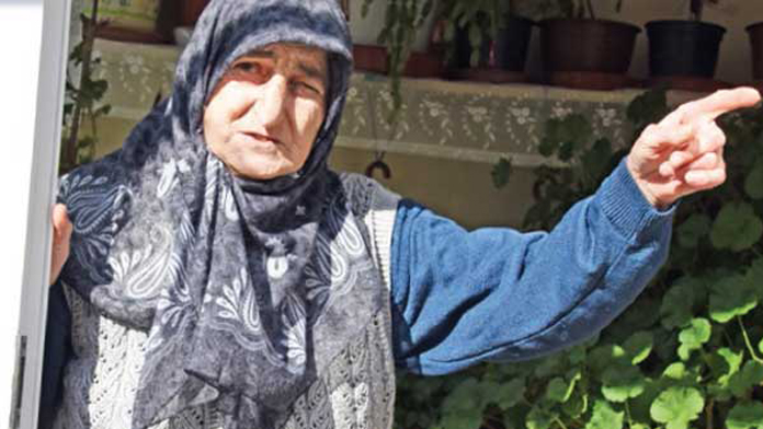 80 yaşında başına talih kuşu kondu!
