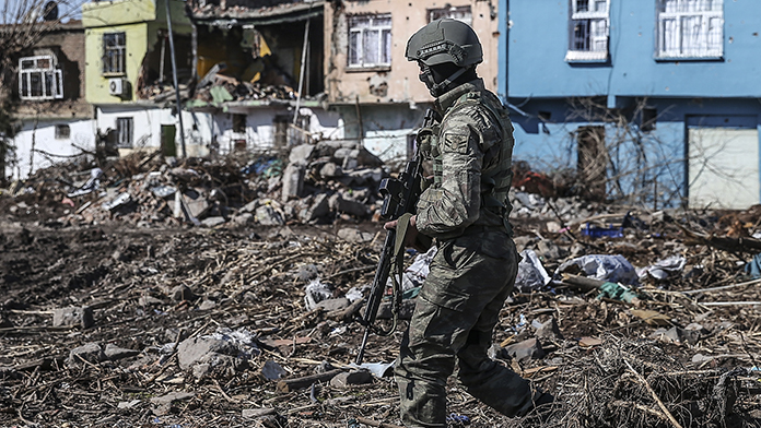 32 PKK'lı etkisiz hale getirildi