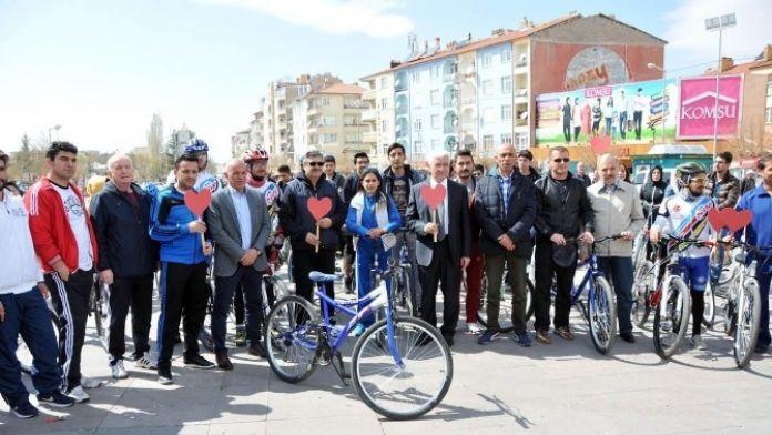 Karaman'da Kalp Sağlığı İçin Pedallar Çevrildi