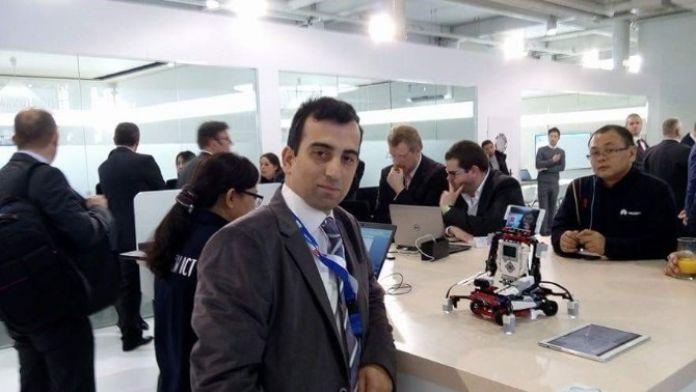 Cebit'e Katılan Ali Değişmiş: 'Türkiye'yi Bilişim Sektöründe Temsil Etme Şansı Bulduk'
