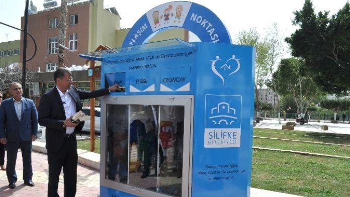 Silifke'de 'Paylaşım Kutusu' Projesi