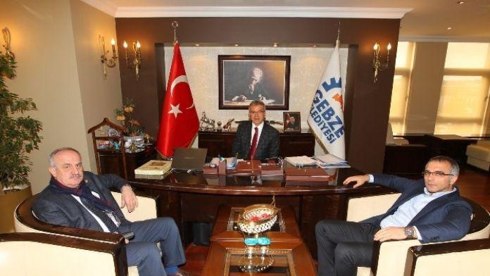 Milletvekili Aygün'den Başkan Köşker Ziyaret