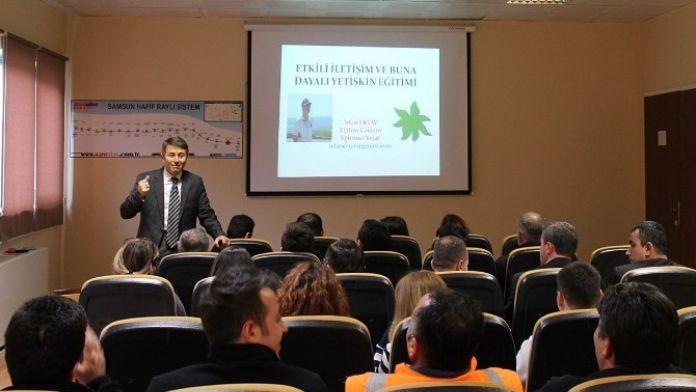 Samulaş Personeline 'Etkili İletişim' Eğitimi