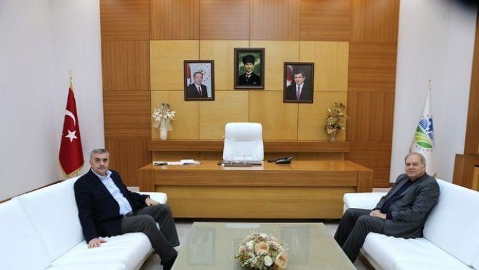 Başkan Toçoğlu, Milletvekili İsen'i Büyükşehir'de Ağırladı