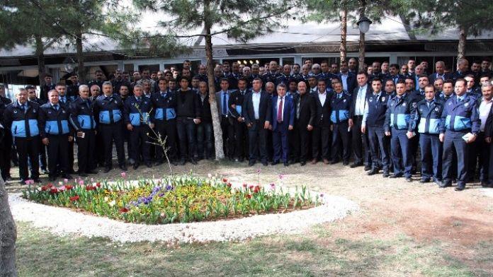 Zabıta Müdürleri İstişare Toplantısı Ceylanpınar'da Yapıldı