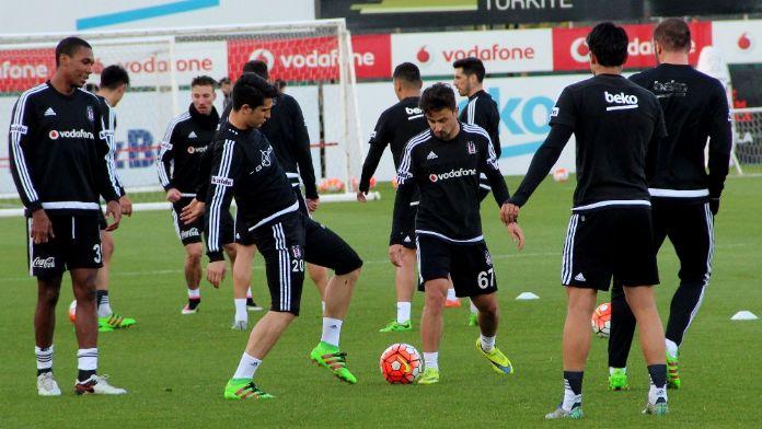 Beşiktaş, Kasımpaşa maçı hazırlıkları sürdürüyor