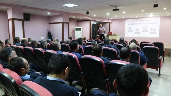Aksaray'da 445 Personele 'İş Sağlığı Ve Güvenliği' Eğitimi
