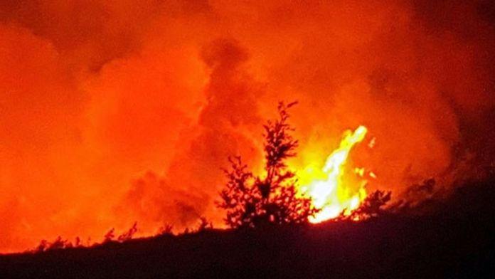 Çadır kentte yangın: 3 çocuk öldü, 6 kişi yaralandı