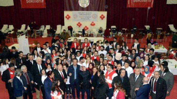 Kzılay, Bülent Ecevit Üniversitesi'nde bir günde 1627 ünite kan topladı