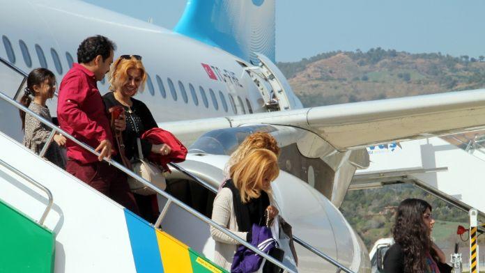 Gelen turist sayısı yüzde 10 azaldı