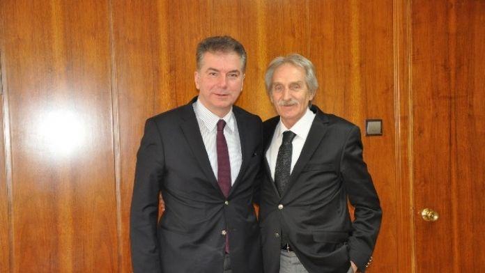 İnegöl OSB'nin 37 Yıllık Müdürü Görevini Devretti