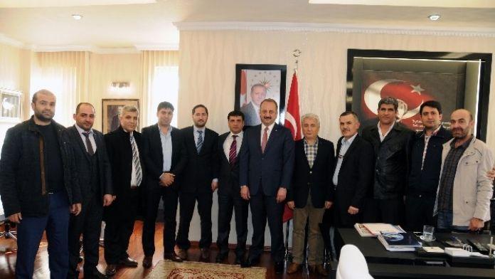 Başkentli Tekstilcilerden Akgül'e Ziyaret
