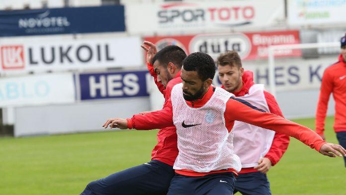 Trabzonspor Gziantepspor deplasmanına hazırlanıyor