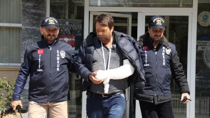 Polise Tabancayla Ateş Açan Şahıs Yaralı Ele Geçirildi