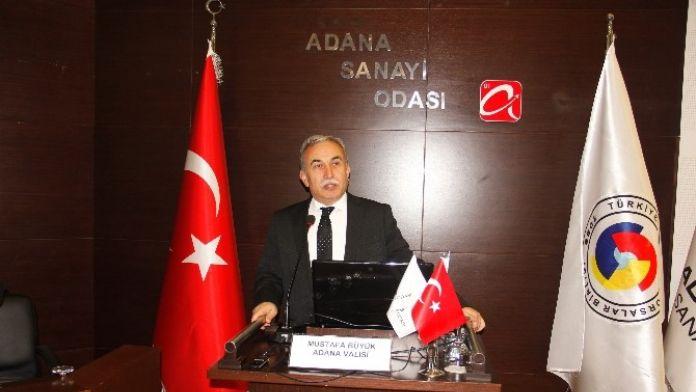 Vali Büyük: 'Adana'nın Geleceğinden Umutluyum'