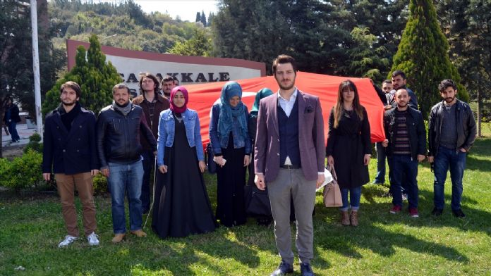 AK Parti Eskişehir Üniversiteler Başkanı Altınkaynak'a yapı