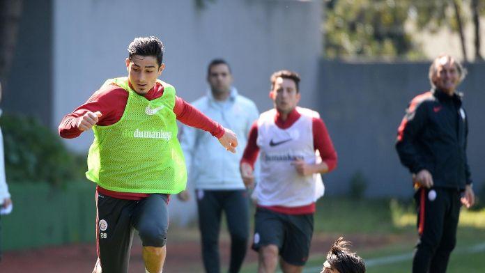 Galatasaray Eskişehirspor maçı hazırlıklarını sürdürdü