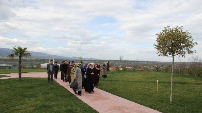 Akyazı'ya Atanan Öğretmenler İlçeyi Gezdi