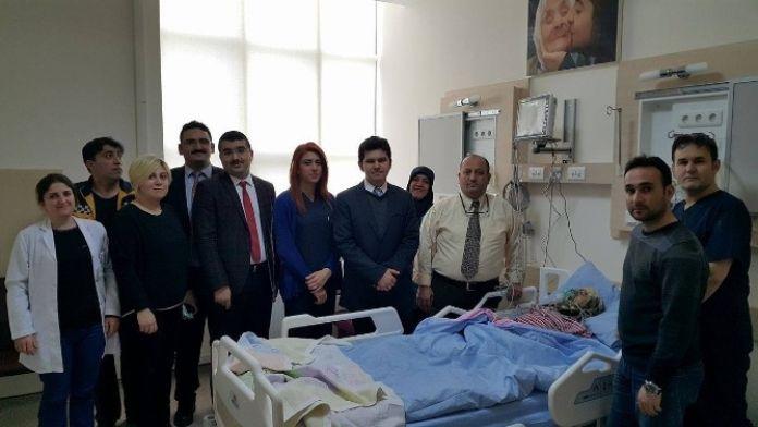 Sungurlu Devlet Hastanesinde Palyatif Bakım Merkezi Açıldı