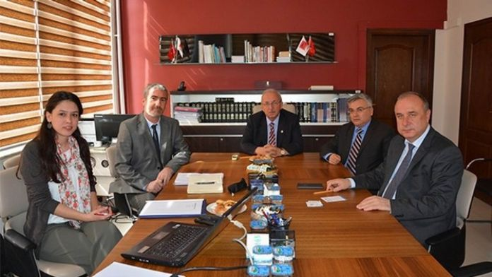 Teski Genel Müdürü Başa Tekirdağ Ve Lojistik Konulu Toplantıya Katıldı