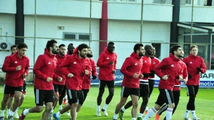 Gaziantepspor, Trabzonspor Maçı Hazırlıklarını Sürdürüyor