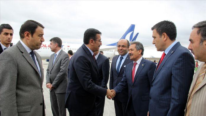 Gümrük ve Ticaret Bakanı Tüfenkci, Ağrı'da