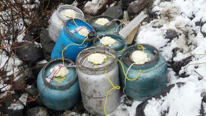 Şırnak'ta bomba imalathanesi bulundu