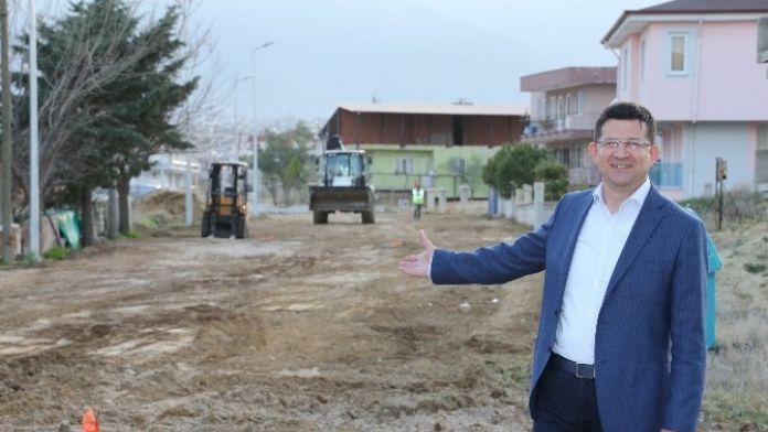 Merkezefendi Belediyesi Yeni Yol Açmaya Devam Ediyor