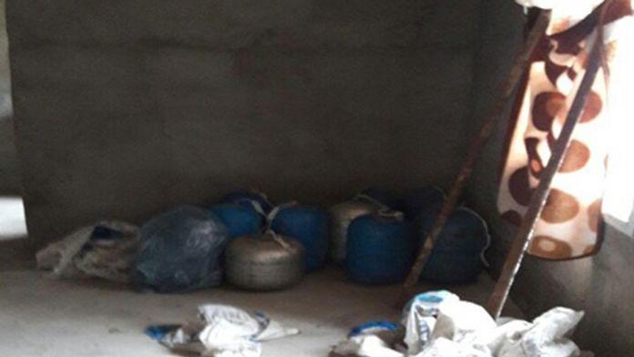 Nusaybin'de çok sayıda patlayıcı ele geçirildi