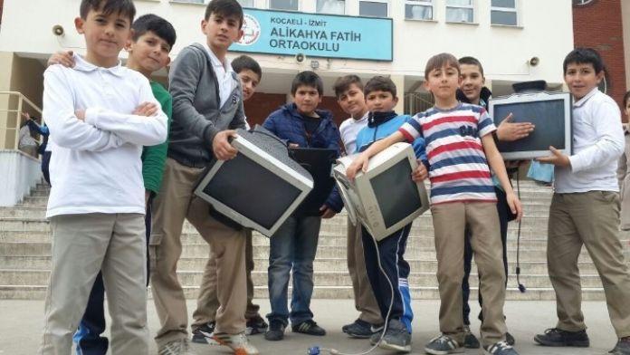 Atık Yarışmasına Okullardan Büyük İlgi
