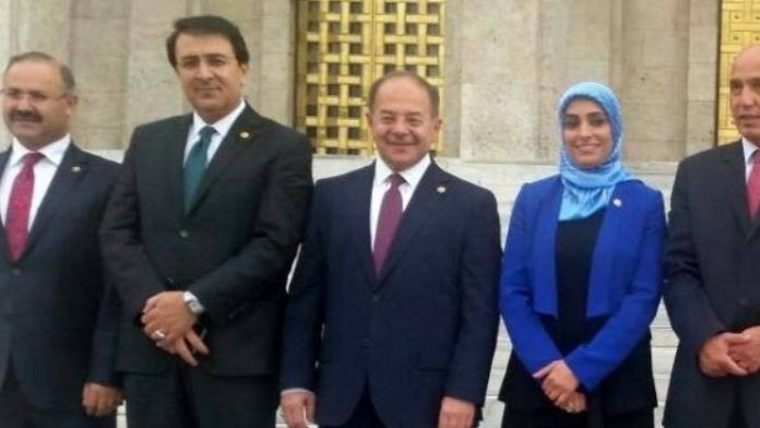 Erzurum Milletvekillerine Dış Görev