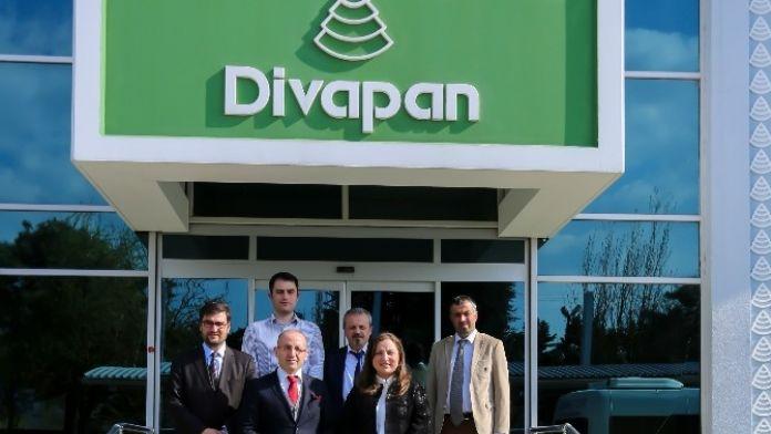 Rektör, Divapan'ı Ziyaret Etti