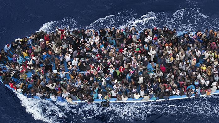 Göçmenler Libya üzerinden İtalya'ya geçmeye başladı