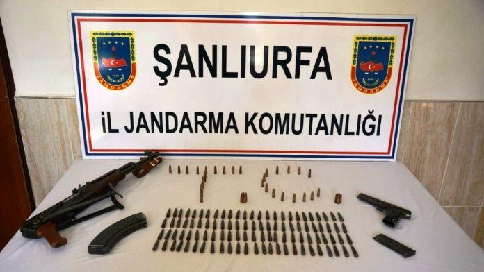 Şanlıurfa'da çok sayıda silah ve mühimmat ele geçirildi